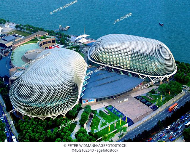Esplanade Theatre, Concert Hall, Durian Fruit, Singapore