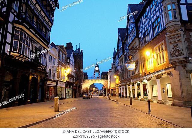 CHESTER UK: Chester is arguably the richest city in Britain for archaeological and architectural treasures preserved to this day from the time of the Roman...