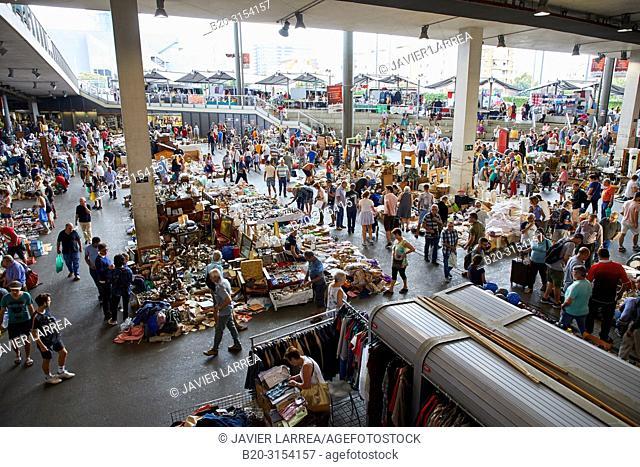 Encants Market, Plaça de les Glòries, Barcelona, Catalunya, Spain, Europe
