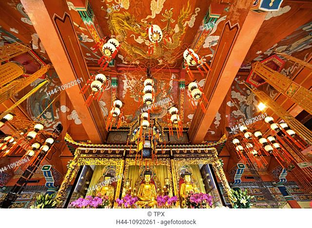 Asia, China, Hong Kong, Lantau, Buddhism, Buddhist, Taoism, Taoist, Religion, Po Lin Monastery, Po Lin, Monastery, Ngong Ping, Monk, Monks, Tourism, Holiday