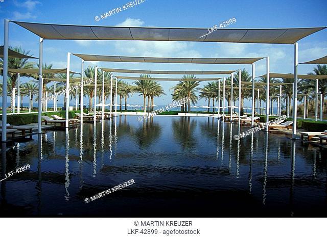 Serai Pool, The Chedi Hotel, Muscat, Oman