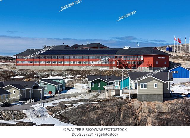 Greenland, Disko Bay, Ilulissat, Hotel Arctic
