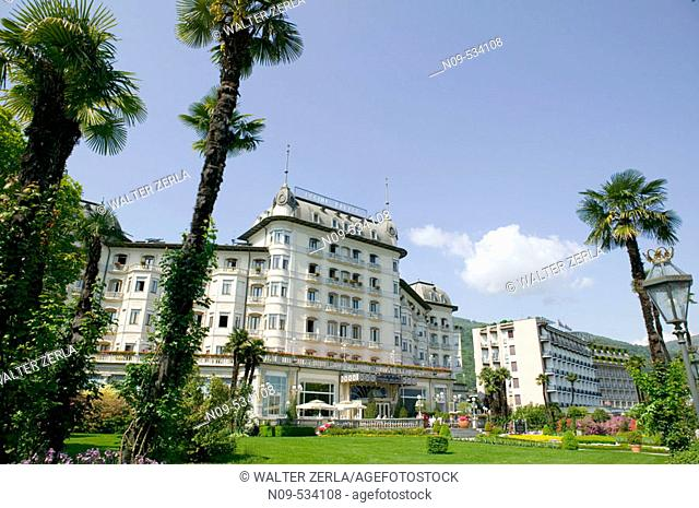 Regina Palace Hotel. Stresa, Piedmont, Italy