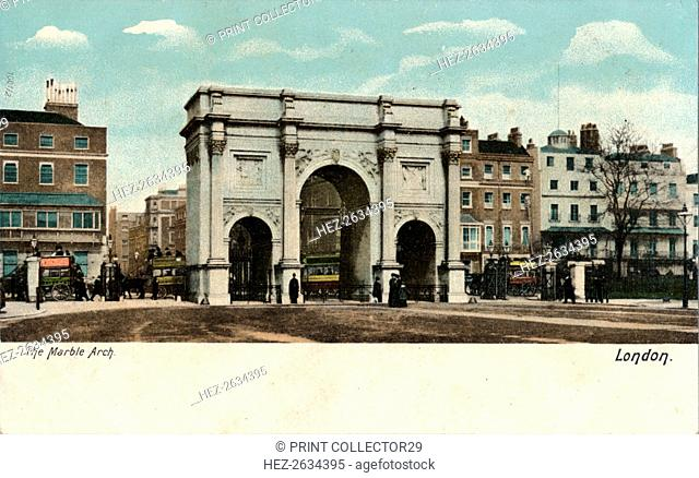 'The Marble Arch', c1910. Artist: Unknown