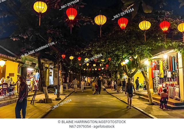 Lanterns, Hoi An Full Moon Lantern Festival, Hoi An, Vietnam