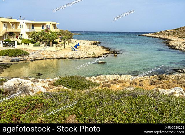 Bucht von Stavros auf der Akrotiri Halbinsel, Chania, Kreta, Griechenland, Europa | Stavros bay on the Akrotiri Peninsula, Crete, Greece, Europe
