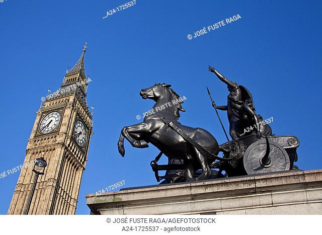 UK, London City,Palace of Westminster, Houses of Parliament, Big Ben Tower