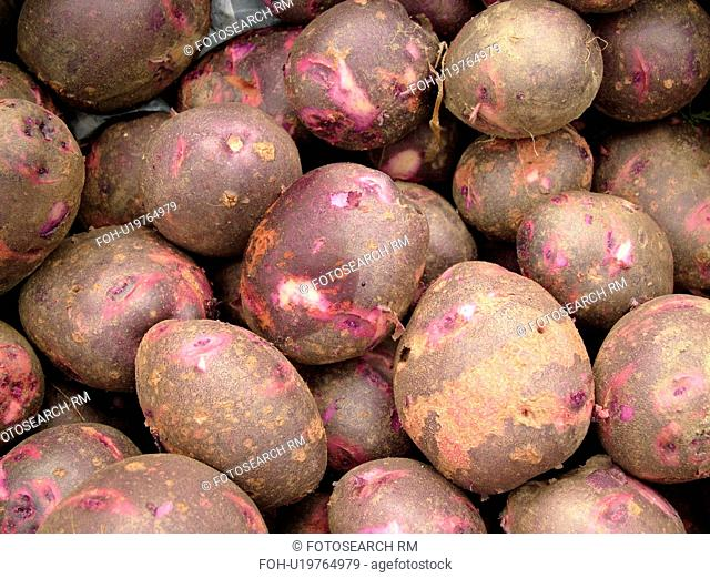 Montpelier, VT, Vermont, Farmer's Market, Potatoes