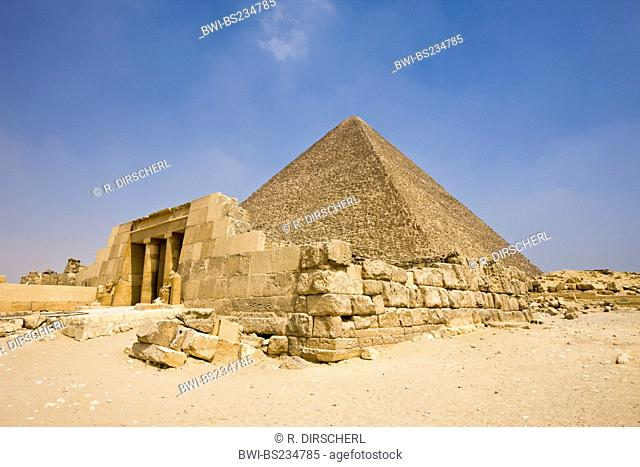 Cheops Pyramide, Egypt, Kairo