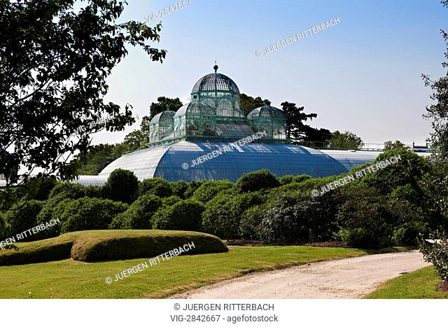 BELGIUM, LAEKEN, BRUSSEL, 01.05.2011, Royal Greenhouses of Laeken, Royal Castle of Laeken, Brussels, Belgium, Europe - Laeken, Brussel, Belgium, 01/05/2011