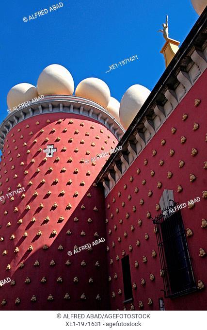Torre Galatea, Teatre-Museu Dali, Figueres, Catalonia, Spain