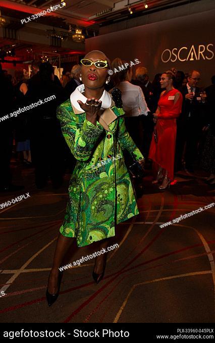 Oscar® nominee Cynthia Erivo at the Oscar Nominee Luncheon held at the Ray Dolby Ballroom, Monday, January 27, 2020. The 92nd Oscars will air on Sunday