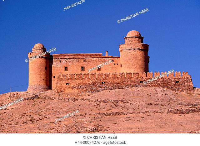 Europe, Iberia, Spain, Spanish, Southern, Andalusia, Granada, La Calahorra Castle