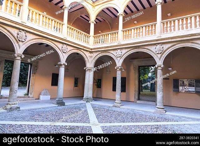 Palace of the Counts of Cirat, or Casa Grande. Almansa. Albacete