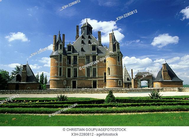 Chateau de Montmort, Marne department, Champagne-Ardenne region, France, Europe