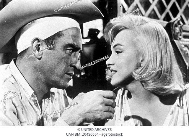 Misfits - Nicht gesellschaftsfähig / Marilyn Monroe / Montgomery Clift
