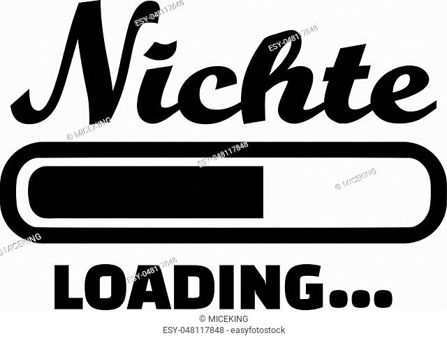 Niece loading german