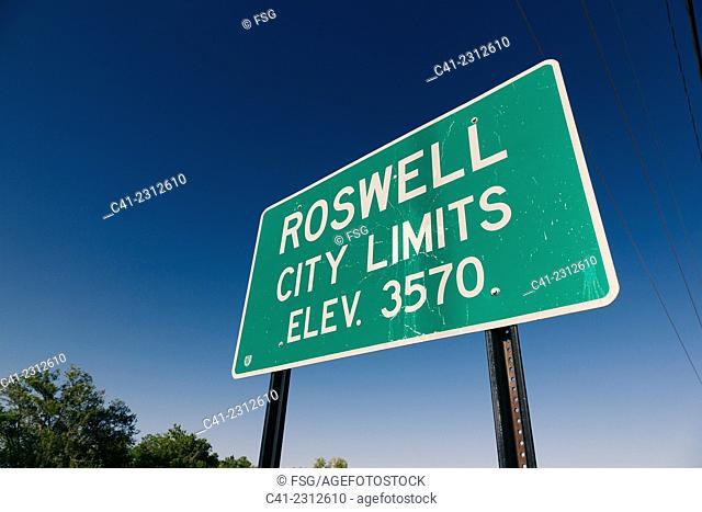 Roswell, Nuevo Mexico. USA