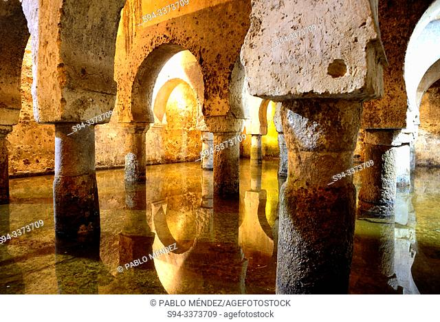 Cistern. House of Veletas in Caceres, Extremadura, Spain