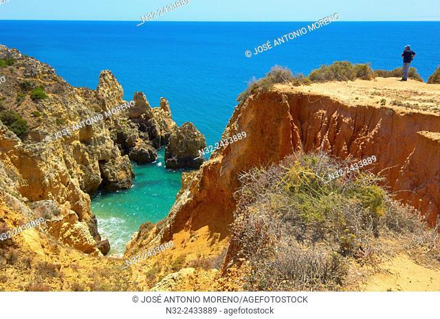 Ponta da Piedade, Lagos, Algarve, Portugal, Europe