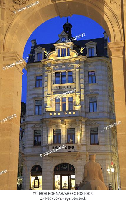 Czech Republic, Karlovy Vary, Menuet Store,