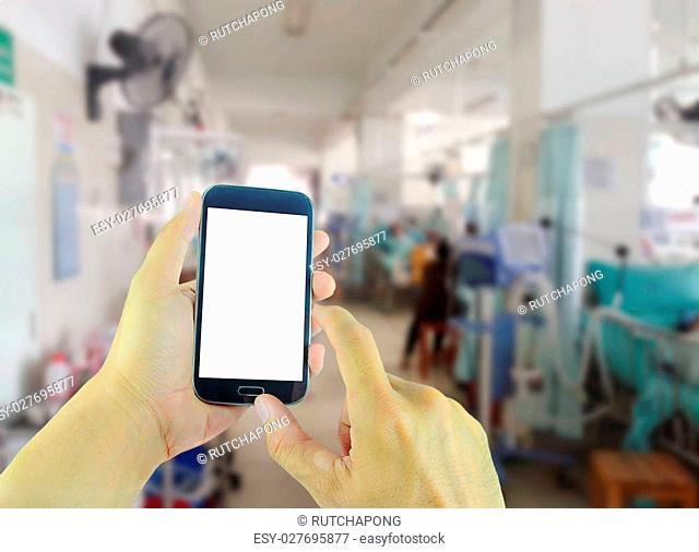 Mobile hospital bed Stock Photos and Images | age fotostock