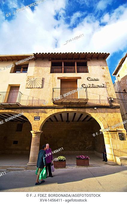 Valjunquera  Matarraña, Teruel, Aragon  Spain