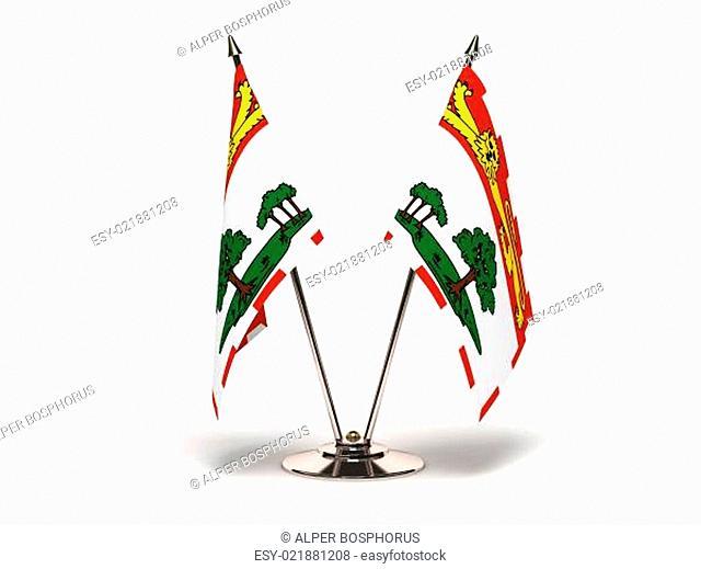 Miniature Flag of Prince Edward Island