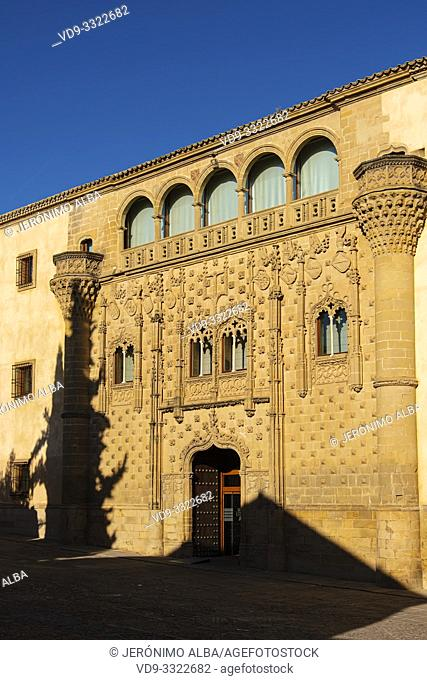 Jabalquinto palace, Antonio Machado Andalusian International University. Baeza, Jaén province. southern Andalusia. Spain Europe