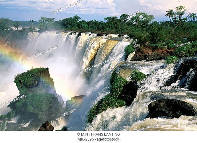 Waterfalls, Iguacu Falls National Park, Argentina