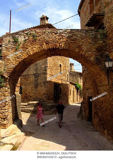 oldtown of Peratallada, Spain, Costa Brava