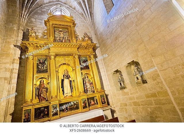 Small Altarpiece, Cathedral of Santo Domingo de la Calzada, Renaissance Style, Historic-Artistic Monument, Santo Domingo de la Calzada, Camino de Santiago, St