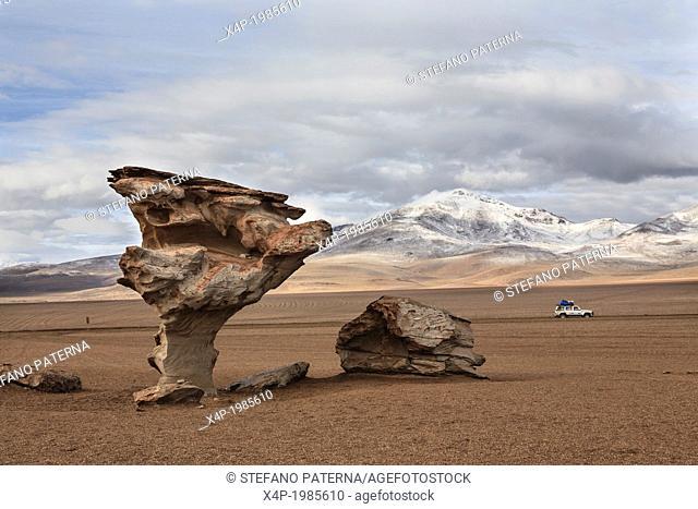 Arbol de Piedra, Salt Flat Tours, Altiplano, Southwest Bolivia