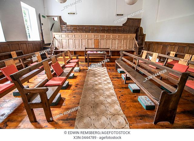 Countersett Quaker meeting in Wensleydale, Yorkshire, UK