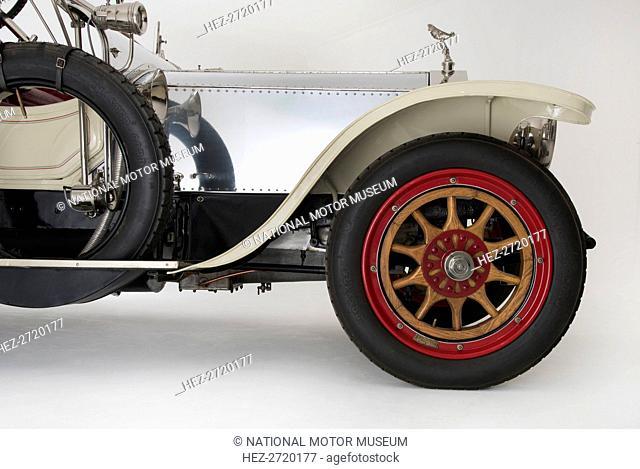 1909 Rolls - Royce Silver Ghost Roi Des Belges. Creator: Unknown