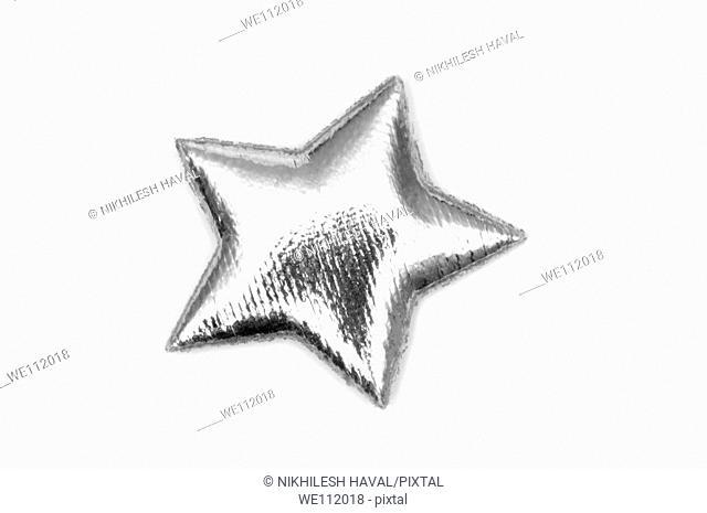 1 padded Silver star
