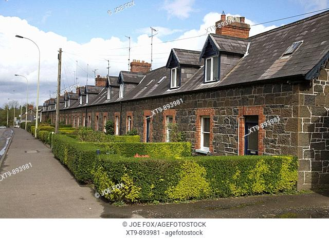 shanes terrace shanes street randalstown county antrim northern ireland uk The terrace was built by the owners of nearby shanes castle to house the castle...