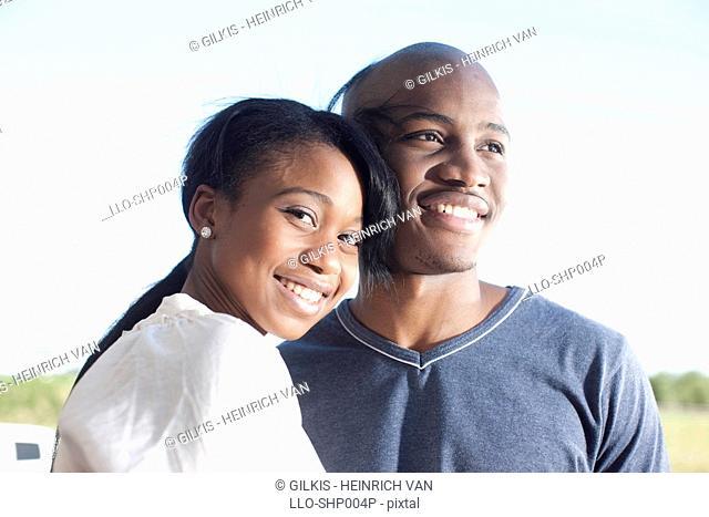 Portrait of couple, KwaZulu Natal Province, South Africa