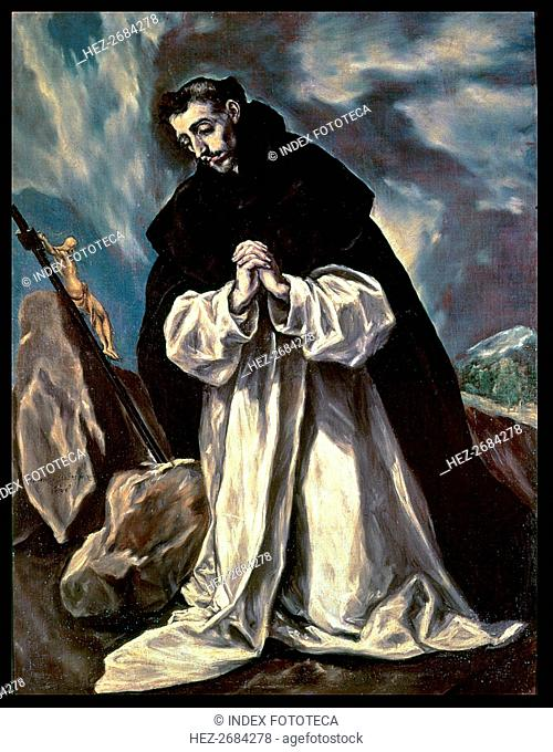 Santo Domingo of Guzmán (1170-1221), founder of the Order of Friars Preachers or Dominicans