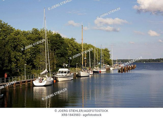 Habour Kiel-Holtenau, Germany, Baltic Sea, Fjord of Kiel