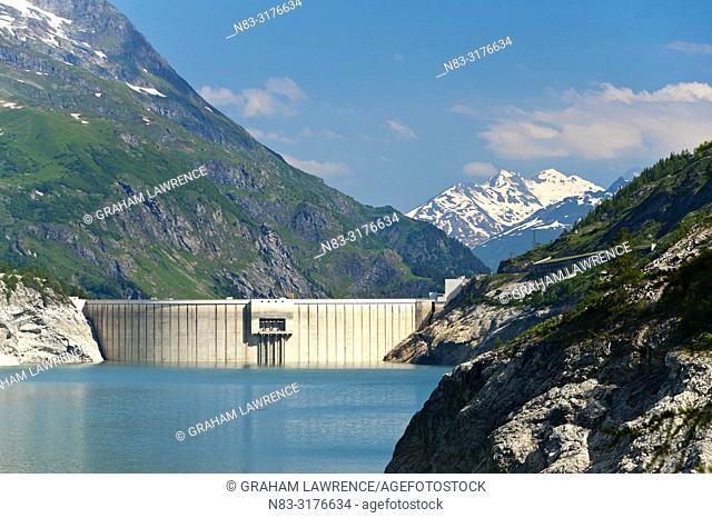 Lac du Chevril, Savoie, France, Europe