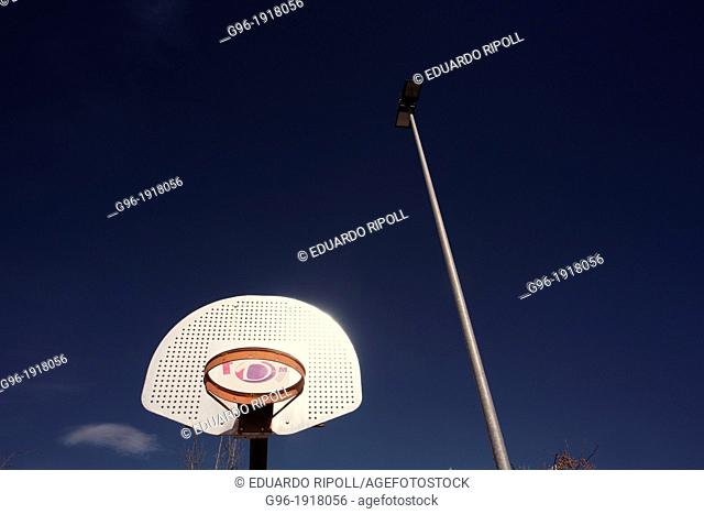 Basketball playground
