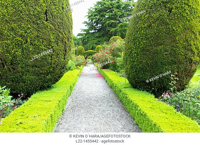 Altamount Gardens known as the most romantic garden in Ireland, Tullow, Co. Carlow, Ireland