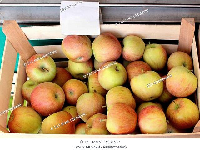 Apples crate