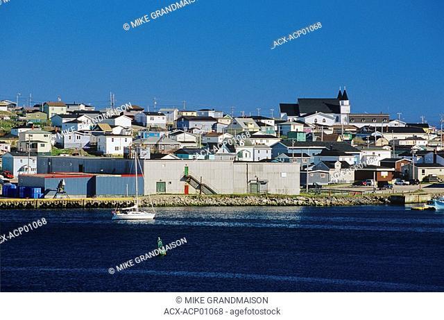 Coastal village, Port Aux Basques, Newfoundland, Canada