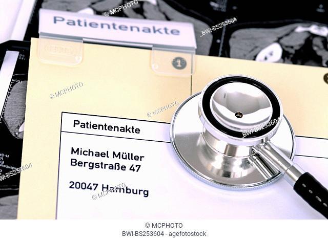 patient chart with patient details