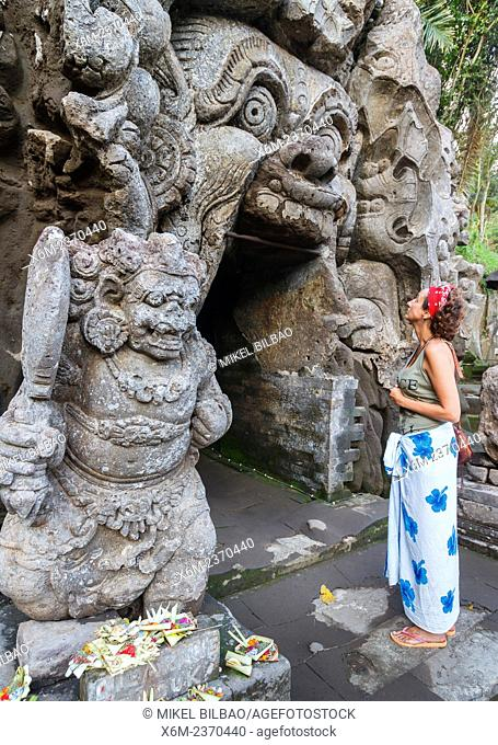Goa Gajah or Elephant Cave. Ubud. Bali. Indonesia, Asia