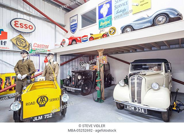 Vintage collection gas station Stock Photos and Images | age fotostock