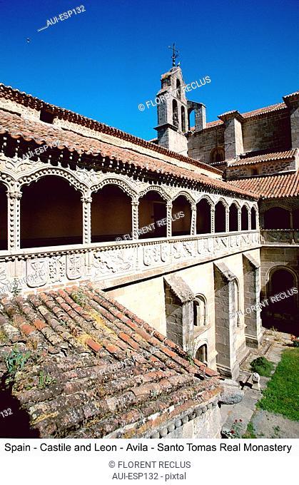 Spain - Castilla - Avila Real - Monasterio Santo Tomas