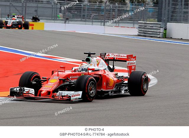 30.04.2016 - Free Practice 3, Sebastian Vettel (GER) Scuderia Ferrari SF16-H
